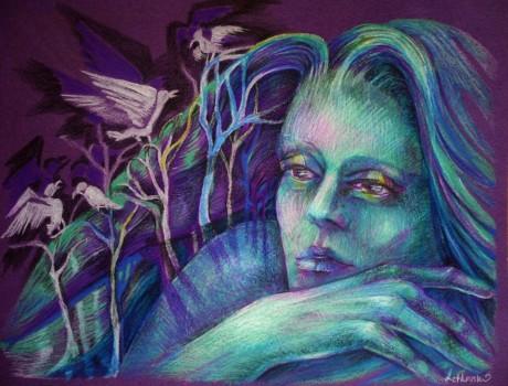 ked zaspava Melancholia